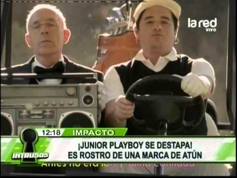 Junior Playboy Se Destapa: Es Rostro De Una Marca De Atún video