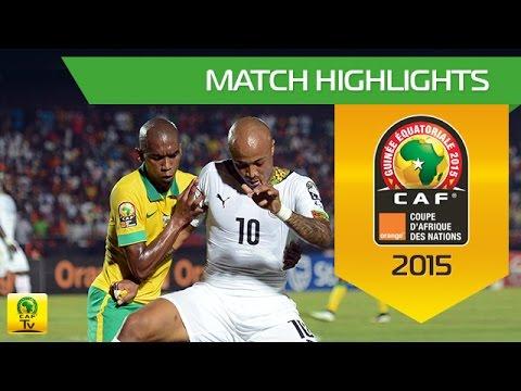 South Africa - Ghana   CAN Orange 2015   27.01.2015
