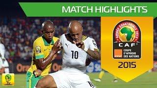 Can 2015 | Poule C - Afrique du Sud 1-2 Ghana