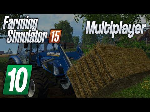 Zagrajmy w Farming Simulator 2015 na multiplayer #10 Łogarnij to pole :D