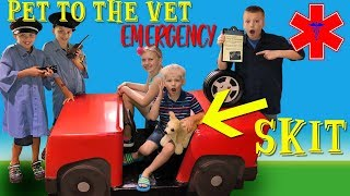 Trouble at the Vet! Family Fun Pack Playtime Skit
