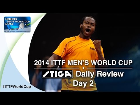 2014 Men's World Cup Daily Review presented by STIGA - Day 2