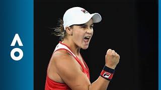 Ashleigh Barty v Aryna Sabalenka match highlights (1R) | Australian Open 2018