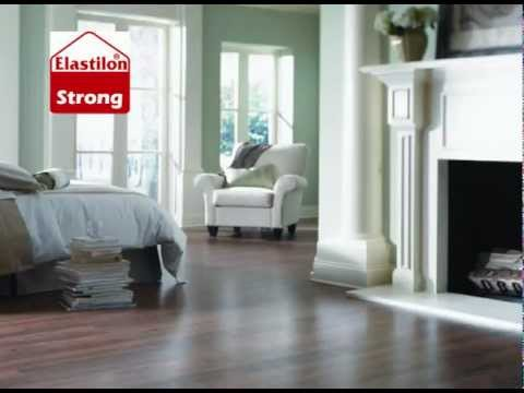 Elastilon Self Adhesive Hardwood Flooring Installation System.wmv