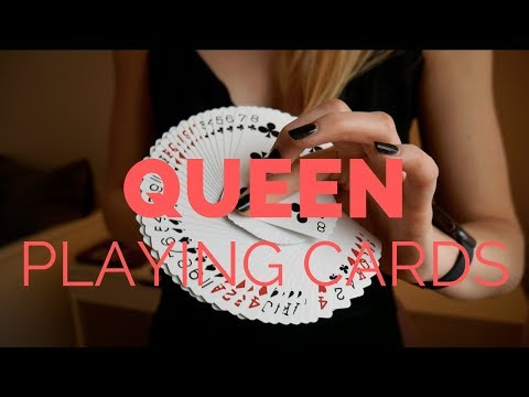 Queen Playing Cards - Deck Review by Caroline Ravn