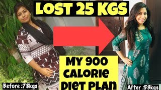 900 calorie diet plan for weight loss | Lose 10kgs fast Diet Plan | Azra Khan Fitness