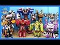 Tobot Carbot transformation play. Robot toys transform to car.   Shim