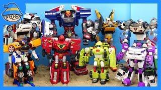 Tobot Carbot transformation play. Robot toys transform to car. | Shim