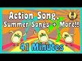 Action Song Summer Songs More Kids Song Compilation The Singing Walrus mp3