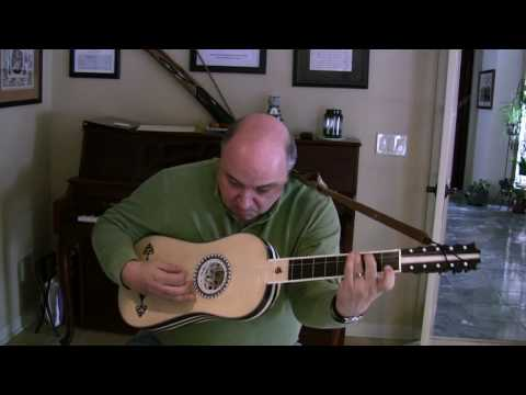 Espanoleta and Folias by Gaspar Sanz for Baroque Guitar