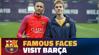 Formers players & celebrities at trainings 2016/17