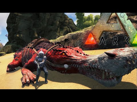 Ark Survival Evolved - ALPHA SARCO, MEGA SNAKE PIT,  FAILS - Modded Survival Ep33 (Ark Gameplay)