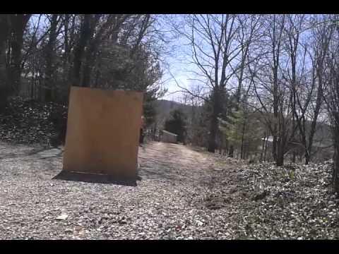 Potato gun vs plywood. air powered