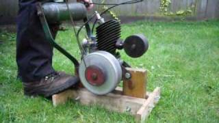 How to start & stop the Villiers Midget Engine