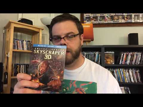 """SKYSCRAPER"" (2018) 3D Blu Ray REVIEW!"