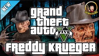 Grand Theft Auto 5 - Freddy Krueger Related Rhyme Secret Easter Egg Gameplay GTA 5