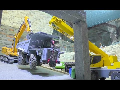 RC ACCIDENT, BIG RC DUMP TRUCK FALS FROM THE STONE WALL ON THE RC URAL6x6