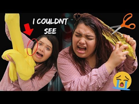 EXTREME SLIME DARES! (GONE WRONG) SLIME ALL OVER MY HAIR!