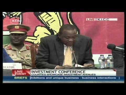 President Uhuru Kenyatta talks about the future of Kenyan economy