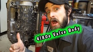 4l80e REBUILD!!! Valve Body Removal And Electrical Component Testing!!! - a21bravo