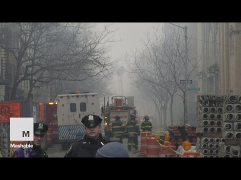 Explosion and building fire in Manhattan | Mashable