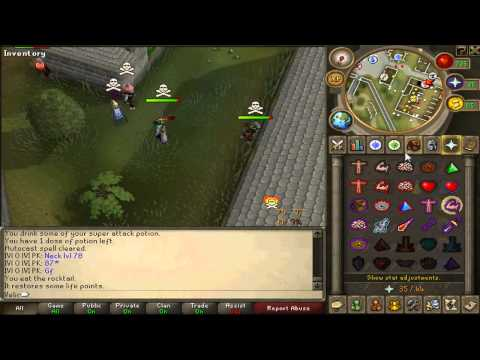1 Song PK Video #3 ~ Hi Im D34d ~ One Day of Pure PKING ~ Hybriding...