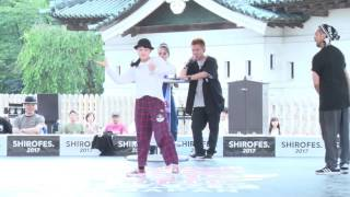 fruit basket vs GUCCHON&TAISUKE Best16_04 | Deadly Duo 2017.07.02 | Red Bull BC One Camp Japan 2017