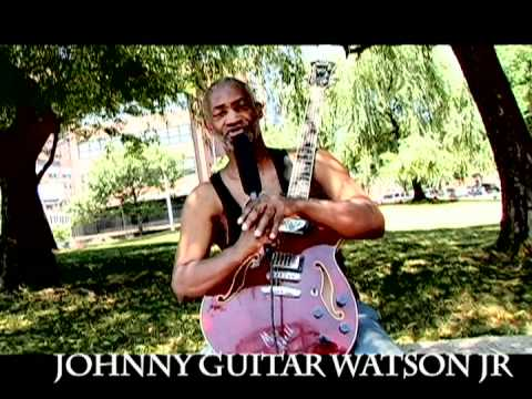JOHNNY GUITAR WATSON JR ROCK GUITARIST(Ibanez Guitars}