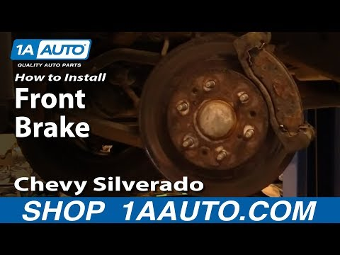 How To Install Replace Front Brakes Chevy Silverado GMC Sierra 1500 99-06 1AAuto.com
