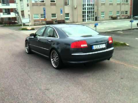 Audi A8 Custom Exhaust 1 Mov Youtube