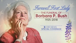 Funeral Services For Former First Lady Barbara Bush
