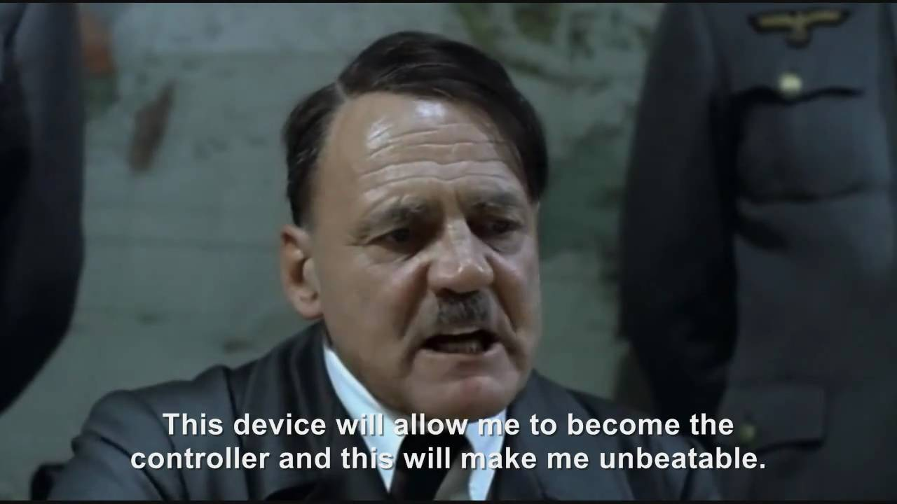 Hitler plans to buy the Kinect