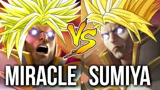 EPIC INVOKER BATTLE OF HISTORY 2 - Miracle- vs SumiYa Dota 2 [MUST WATCH]