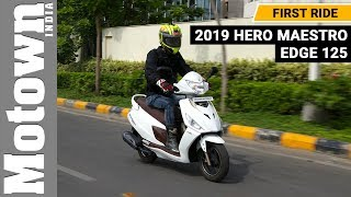 Hero Maestro Edge 125 FI | First Ride Review | Motown India