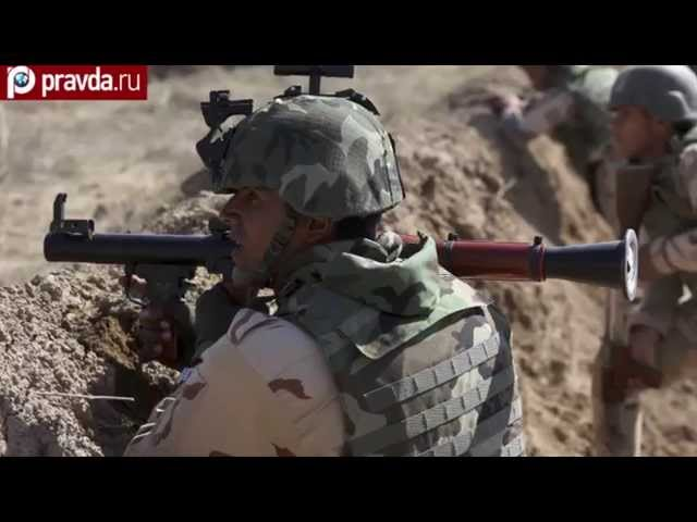 USA train Iraqis to fight against ISIS