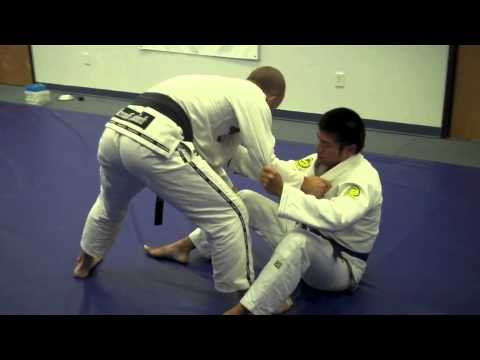 Pendergrass Academy - August 2013 BJJ Technique of Month - Open Guard Sweep to X Pass Image 1