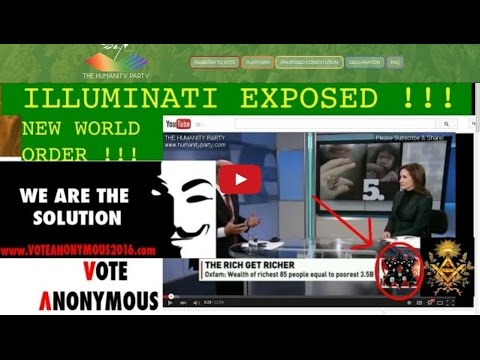 Humanity Party vote anonymous 2016.com EXPOSED Agenda 21