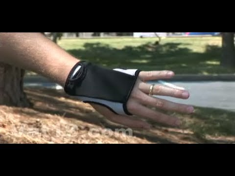 FreeHand Workout Glove - Holds your stuff while you exercise