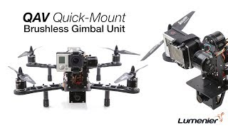 QAV Quick-Mount Brushless Gimbal Unit by Lumenier