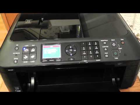 Canon Pixma MX420 Printer 5100 Error and Loading Ink