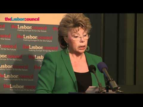 EU's Reding announces optional EU sales law plan at Lisbon Council's 2011 Innovation Summit