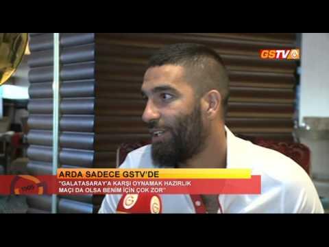 Arda Turan'dan İzmir'de GSTV'ye Özel Açıklamalar