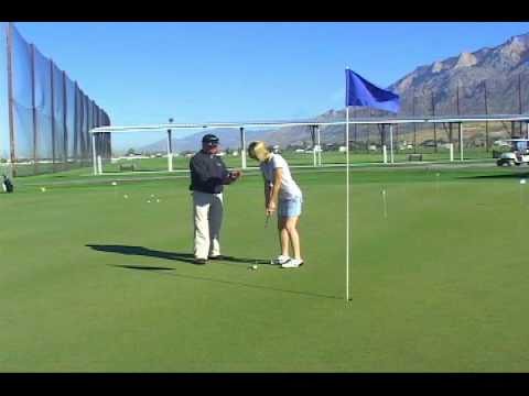 Beginner Golf Lesson - Putting video