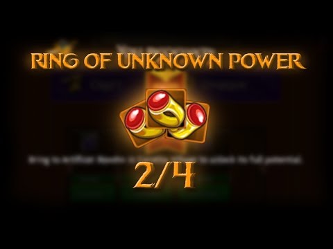 SET MYTHIC//RING OF UNKNOWN POWER 2/4 //ARCANE LEGENDS