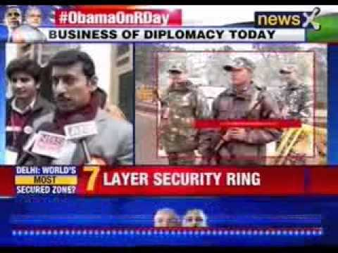 Obama in India: US President Barack Obama arrives in India today