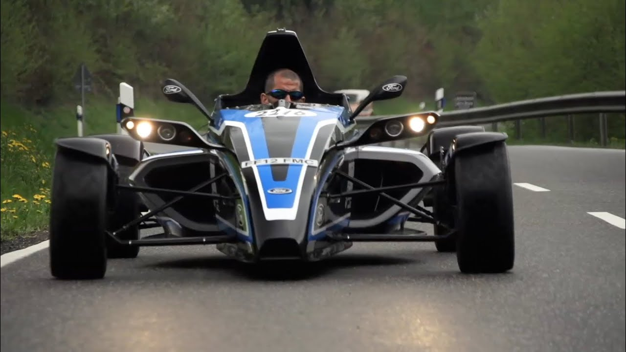 Formula Ford EcoBoost. Street Legal Racer on Road and ...