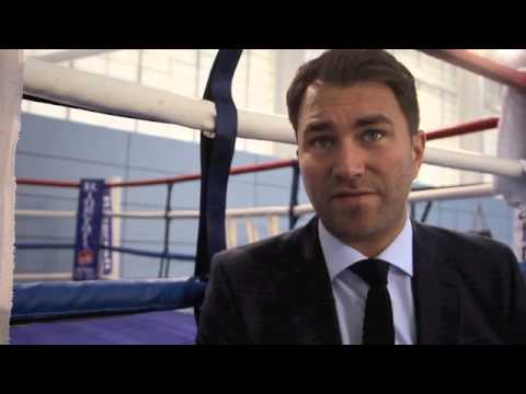 EDDIE HEARN ON JAMES DeGALE v ANDRE DIRRELL BEING CONFIRMED FOR MAY 23rd 2015 IN BOSTON (U.S)