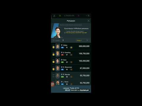 Fifa Online 3 Indonesia | Trade VVIP Part 2
