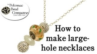 Pandora Style Necklace Tutorial