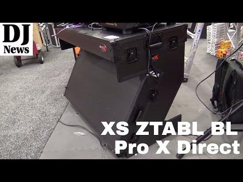 #ProXDirect DJ Table XS ZTABL BL | Disc Jockey News